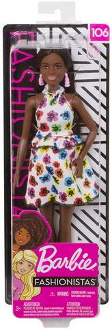 Высокая темнокожая Барби.