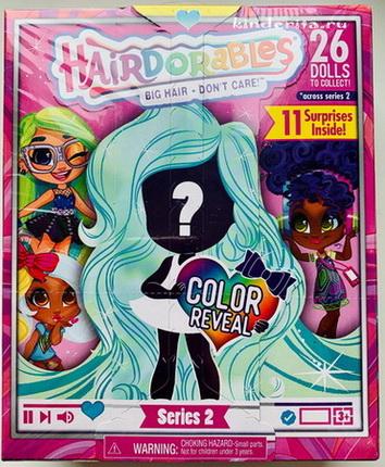 Оригинальная коробка Hairdorables.