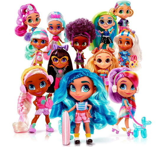 Вся коллекция кукол Hairdorables series 2.
