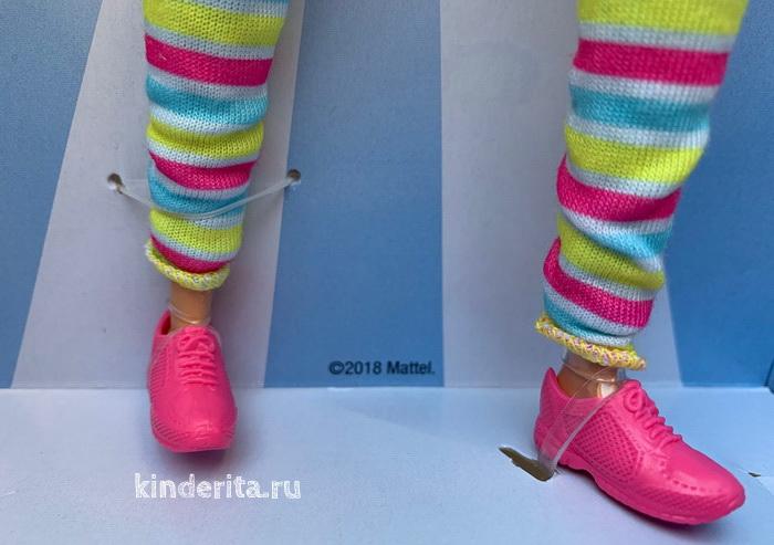 Обувь куклы Барби.