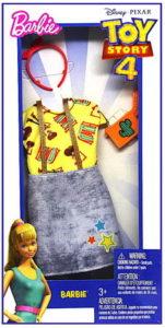Дополнительный комплект одежды для Барби.