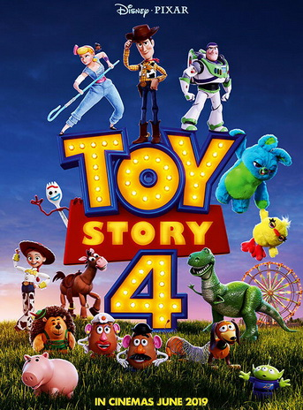 Постер к мультику История игрушек 4.