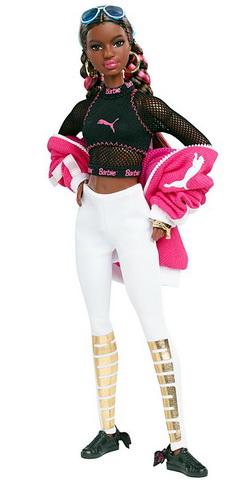 Афроамериканка Пума с шарнирным телом.