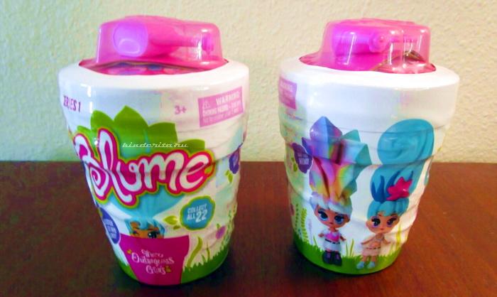 Упаковка оригинальной куклы Blume.
