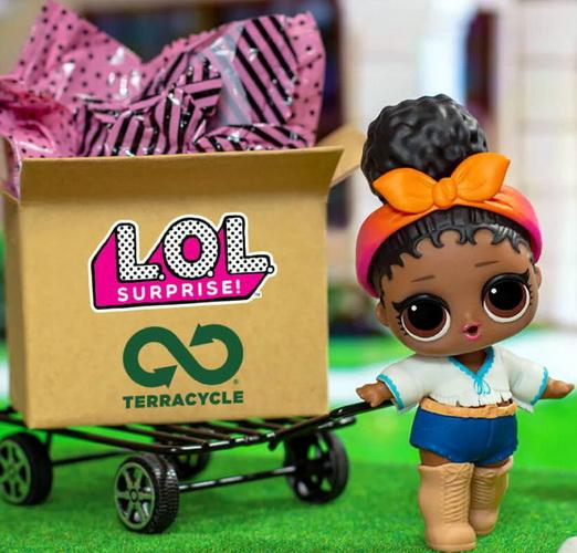 Куколки LOL за переработку мусора.
