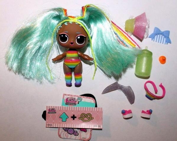 Rainbow Raver — кукла ЛОЛ с волосами 2 Радуга.