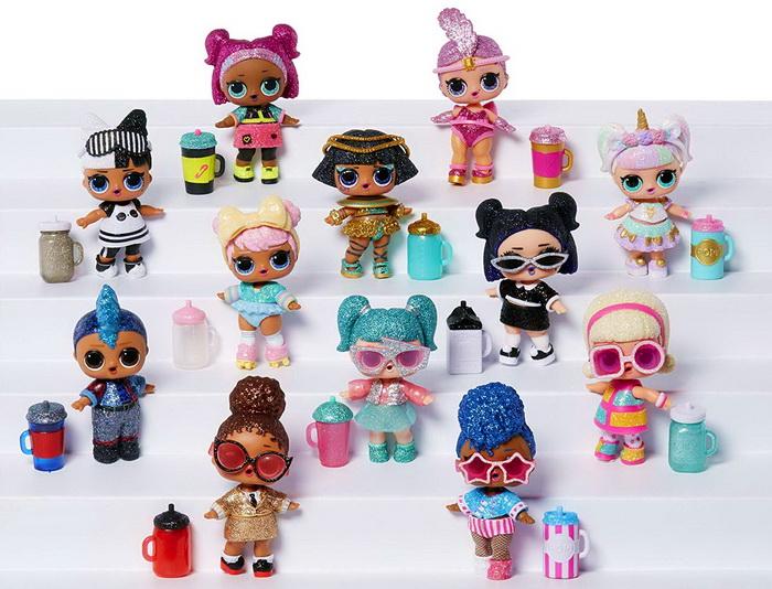 Коллекция блестящих кукол ЛОЛ 559658.