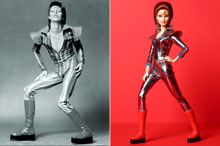 Кукла Барби Дэвид Боуи от Маттел.