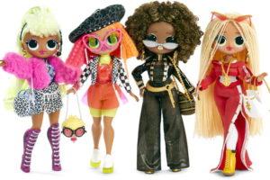 Большие куклы ЛОЛ ОМГ —  LOL OMG Fashion Dolls