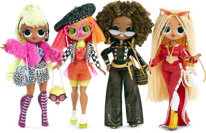 Все куклы ЛОЛ ОМГ первой серии.
