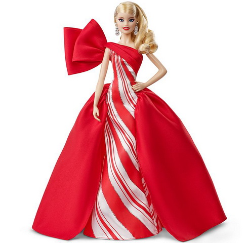 Кукла Барби блондинка холидей.