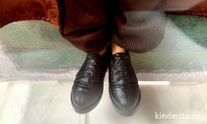 Кукольные ботинки Рона Уизли.