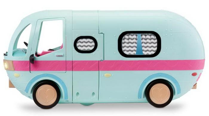 Дом на колёсах для путешествий с куколками.