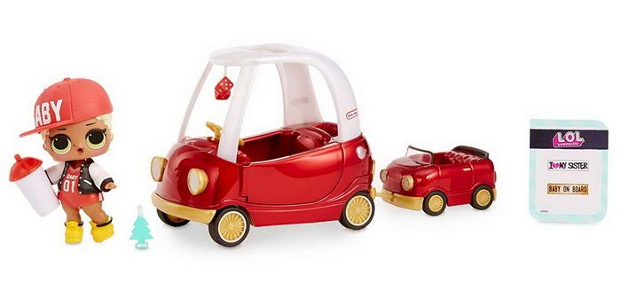 Машинка для ЛОЛ кабриолет.