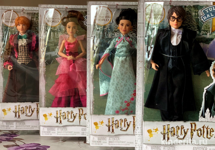 Куклы Гарри Поттер из серии «Святочный бал».
