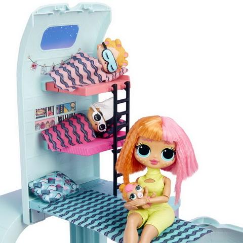 Кроватка для кукол в шаре ЛОЛ.