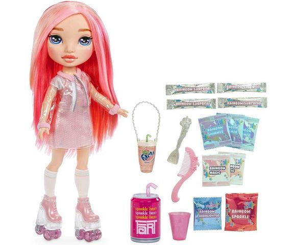 Пикси Роуз Пупси с розовыми волосами.