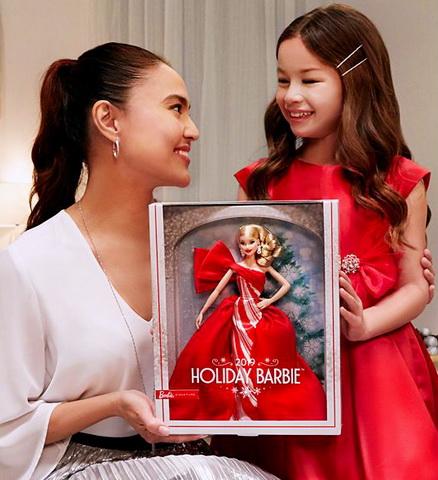 Подарок для девочки — коллекционная кукла Барби 2019.