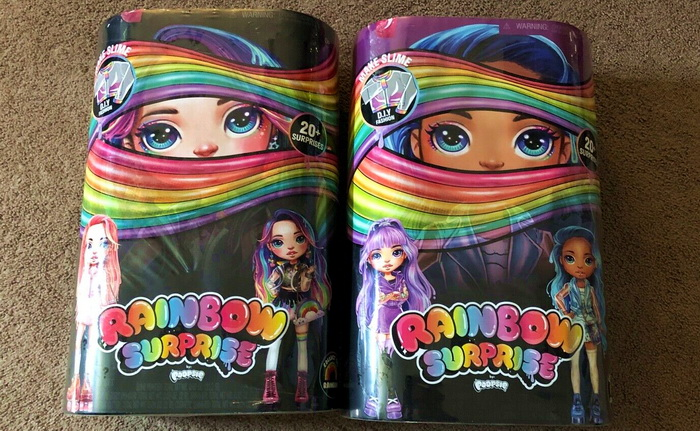 Куклы Rainbow Poopsie Surprise Dolls.