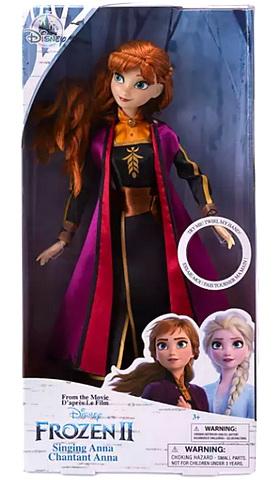 Поющая кукла Анна — Холодное сердце 2.