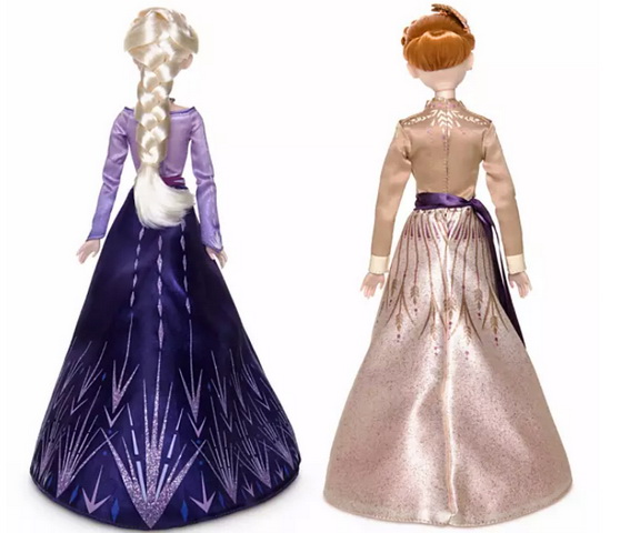 Anna Elsa doll set shopdisney