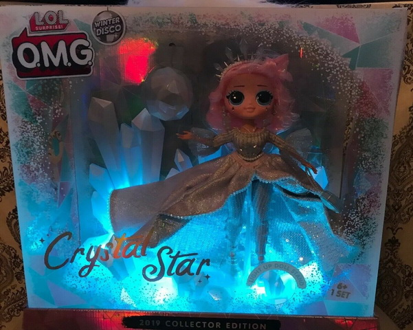 LOL Winter disco OMG Crystal Star Doll.