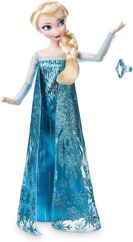 Базовая куколка Эльза с колечком.