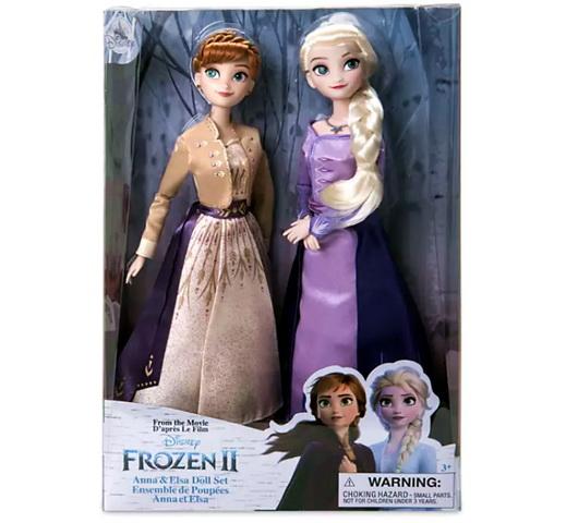 Набор кукол Эльза и Анна Дисней.