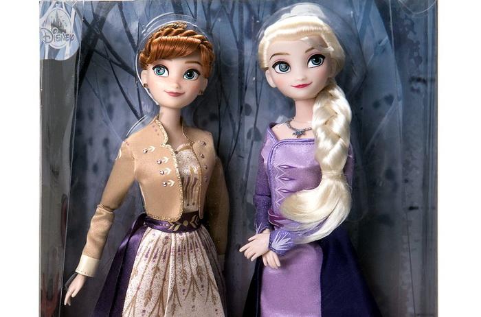 Купить куклы Эльза и Анна Холодное сердце 2 в Москве.