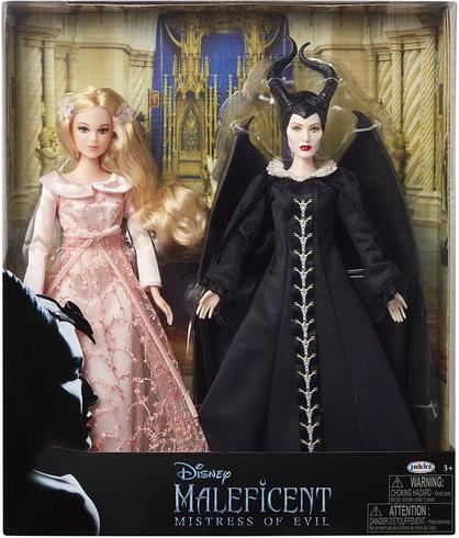 Набор кукол Малефисента и Аврора (Дисней).