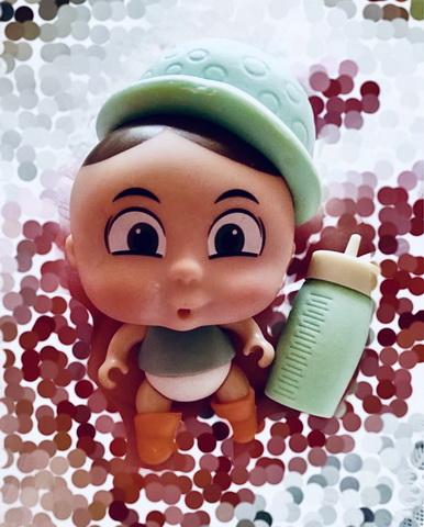 Кукла в горохе мальчик Федя.