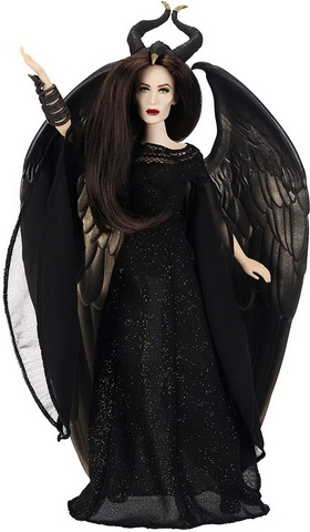 Кукла Анджелина Джоли.