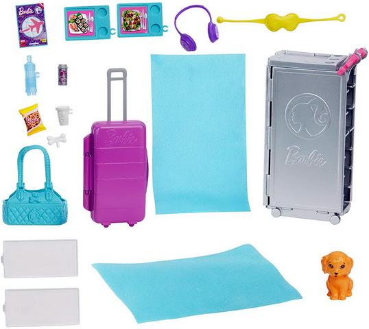 Аксессуары для Барби, необходимые в самолёте.