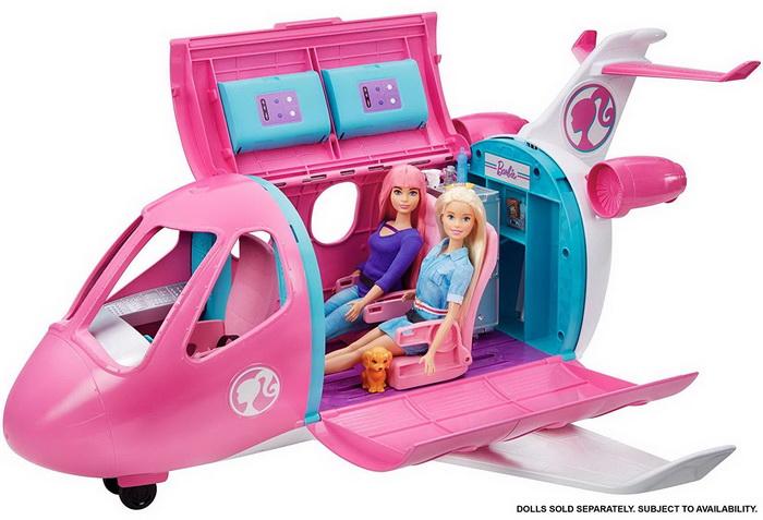 Самолёт для куклы Барби от Маттел.