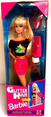 Кукла винтаж Глиттер Хейр 1994 год.
