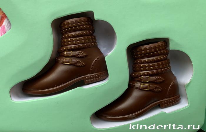 Ковбойские ботинки.