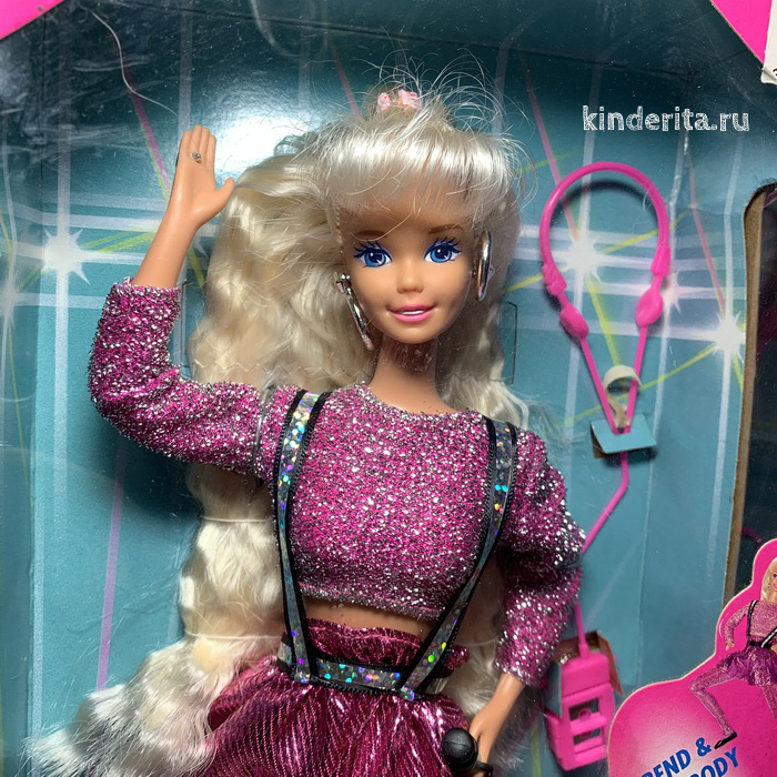 Барби Танцевальные движения, 1991 год выпуска.