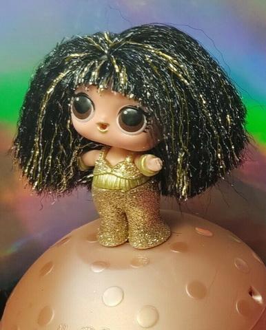 Редкая кукла ЛОЛ королева дискотеки.