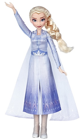 Elsa singing doll Hasbro.