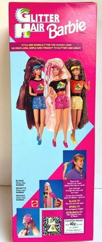 Glitter Hair Barbie Doll.