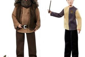 Рубеус Хагрид и Седрик Диггори — новые куклы из «Гарри Поттера»