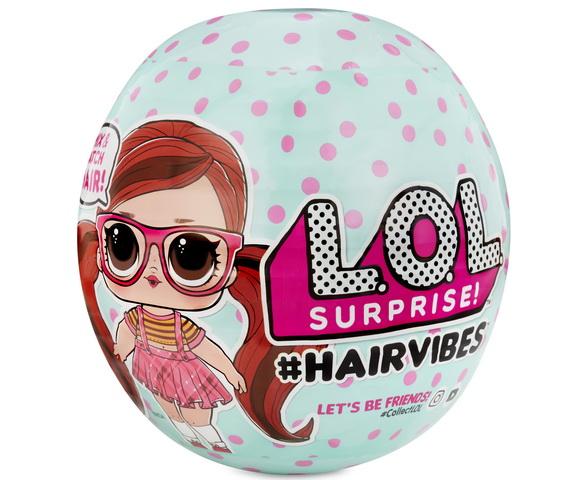 Куклы ЛОЛ с причёсками — LOL Hairvibes.