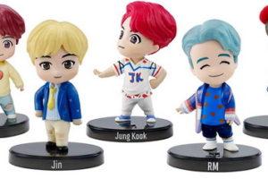 Коллекционные мини фигурки BTS — милота зашкаливает