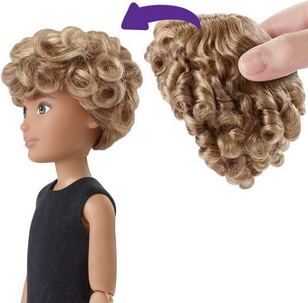 Парики для кукол Барби.