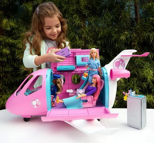 Где купить самолёт для Барби?