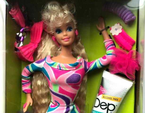 Totally Hair Barbie 1991.