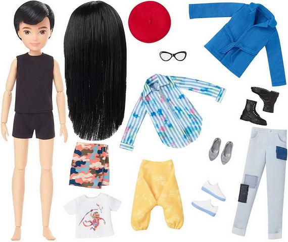 Гендерно-нейстральные куклы как Барби.
