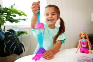 Барби Русалка и слайм — кукла из Дримтопии от Маттел