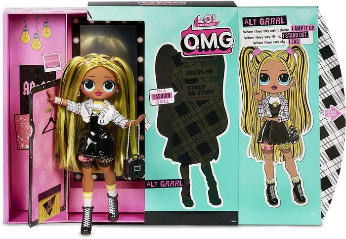 Кукла lol omg fashion doll Alt Grrrl.