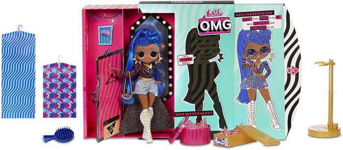 Miss Independent старшая кукла и 20 сюрпризов.